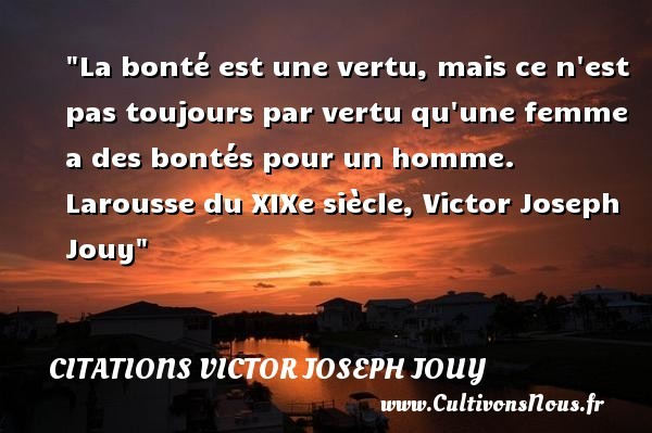 citations victor joseph jouy