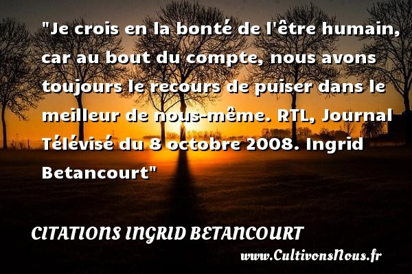 citations ingrid betancourt