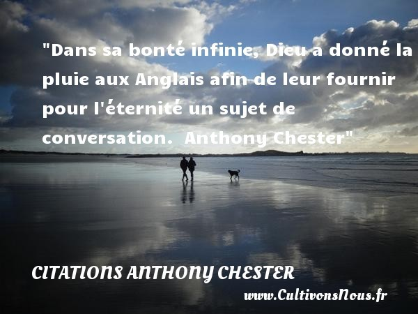 citations anthony chester