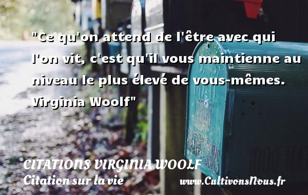 citations virginia woolf