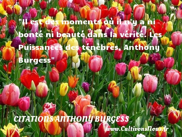 citations anthony burgess