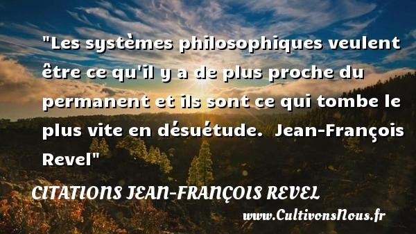 citations jean-françois revel
