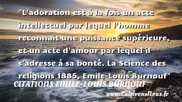citations emile-louis burnouf