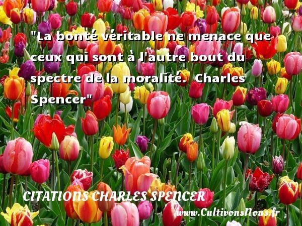 citations charles spencer