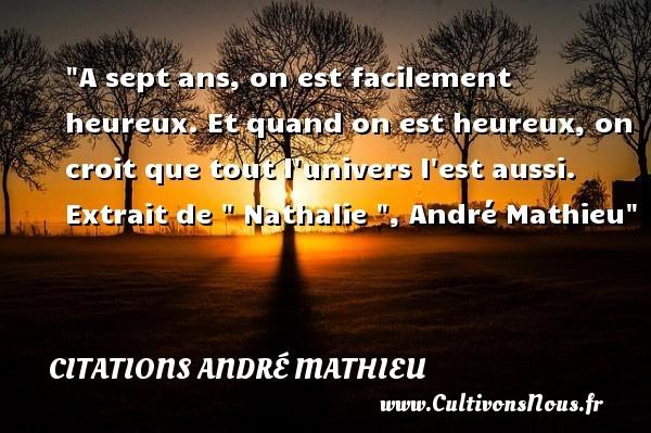 citations andré mathieu
