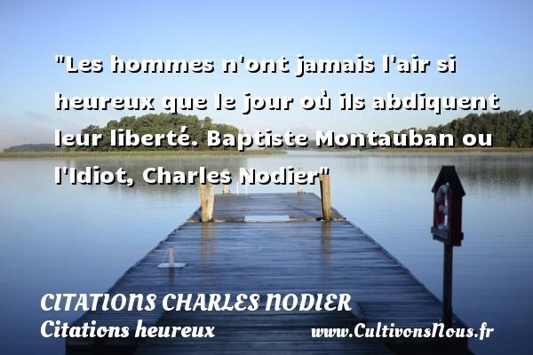 citations charles nodier