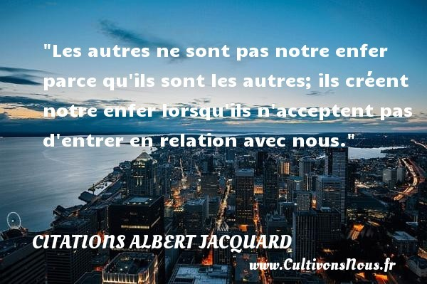 citations albert jacquard