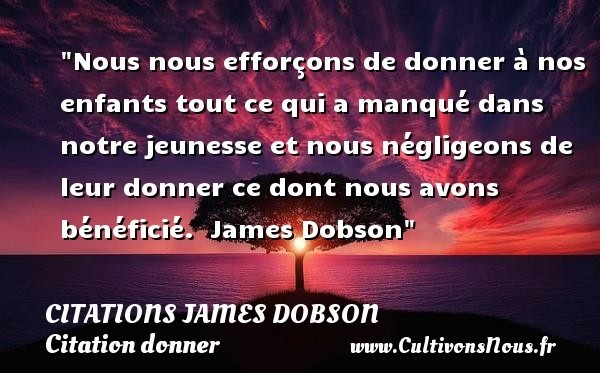 citations james dobson