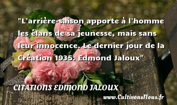 citations edmond jaloux