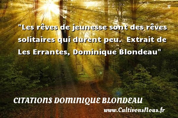 citations dominique blondeau