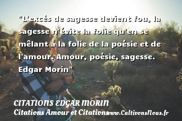 citations edgar morin