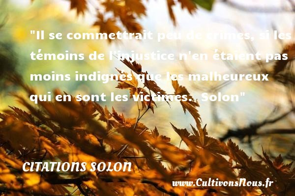 citations solon