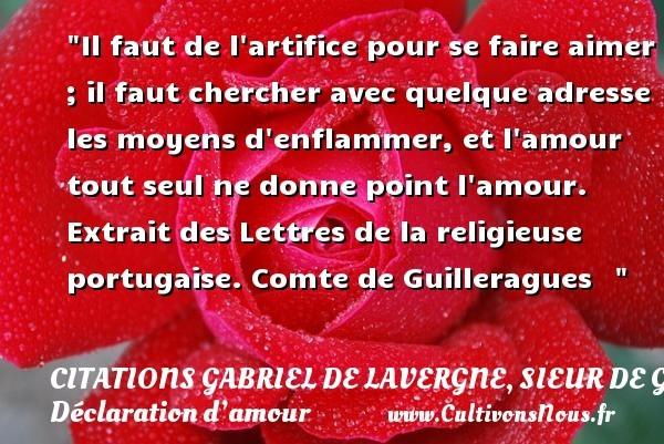citations gabriel de lavergne, sieur de guilleragues