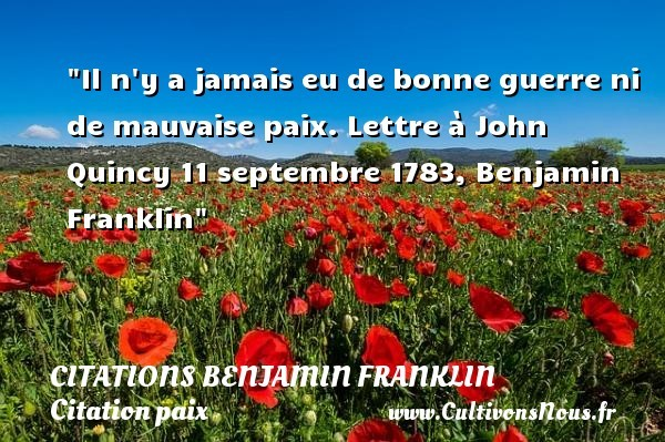 citations benjamin franklin
