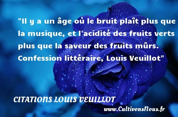citations louis veuillot