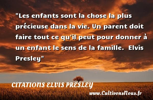 citations elvis presley
