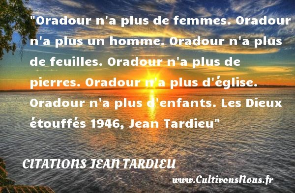 citations jean tardieu