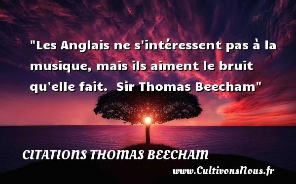 citations thomas beecham