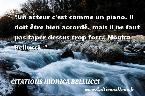 citations monica bellucci