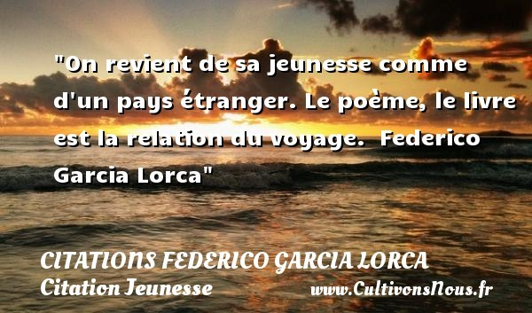 citations federico garcia lorca