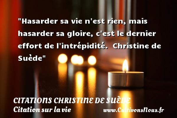 citations christine de suède