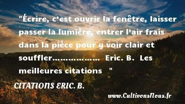 citations eric. b.