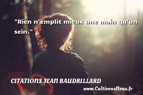 citations jean baudrillard