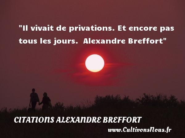citations alexandre breffort
