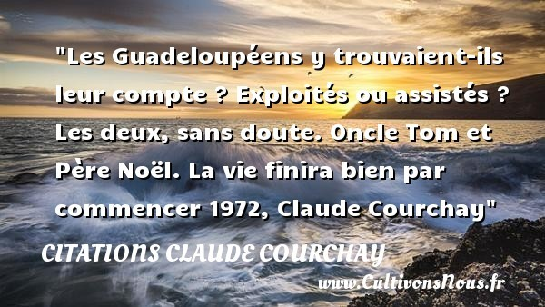 citations claude courchay