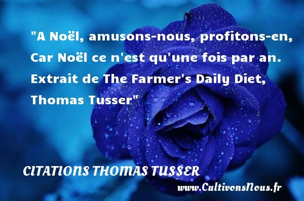 citations thomas tusser