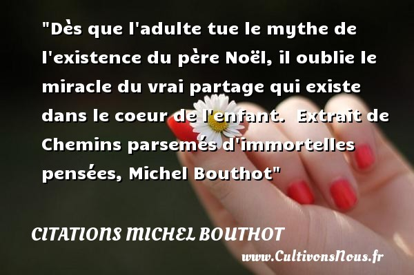 citations michel bouthot
