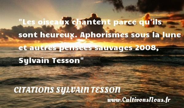 citations sylvain tesson