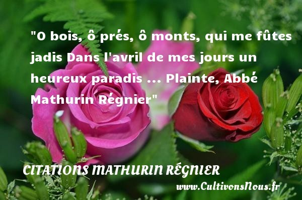 citations mathurin régnier