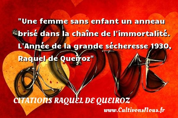 citations raquel de queiroz