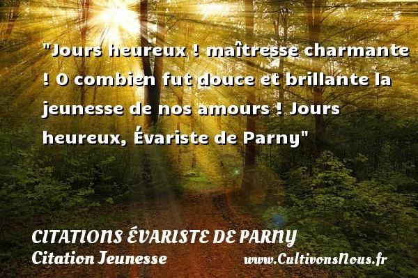 citations évariste de parny