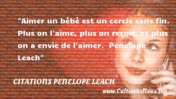 citations penelope leach