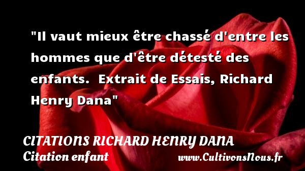 citations richard henry dana