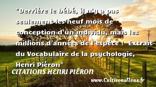 citations henri piéron
