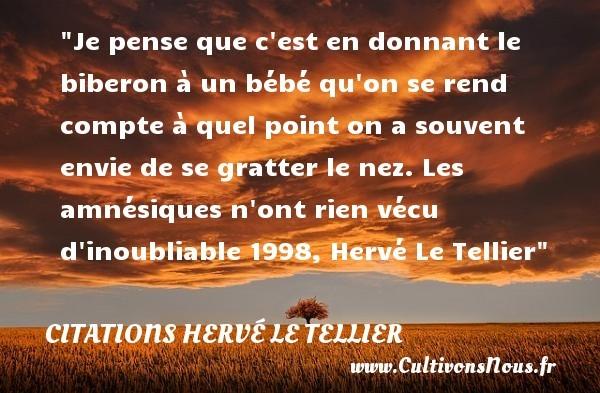 citations hervé le tellier