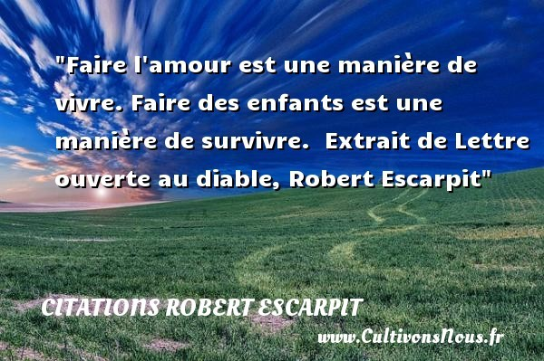 citations robert escarpit