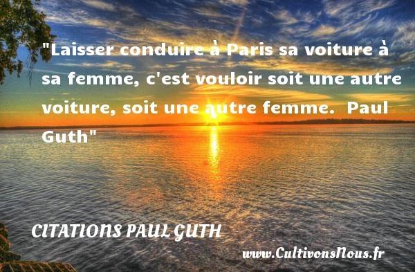 citations paul guth