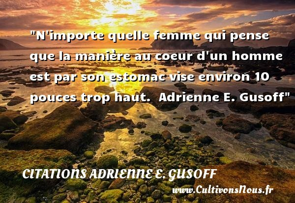 citations adrienne e. gusoff