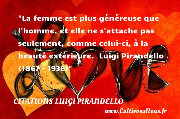 citations luigi pirandello