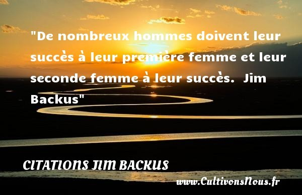 citations jim backus