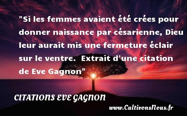 citations eve gagnon