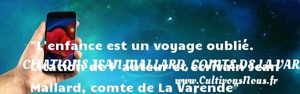 citations jean mallard, comte de la varende