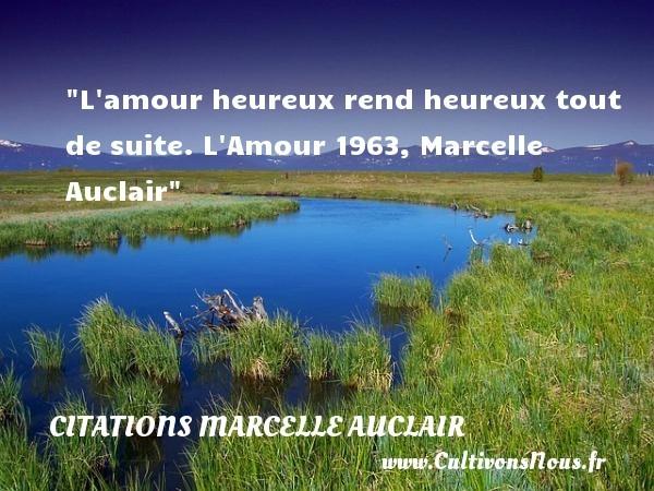 citations marcelle auclair