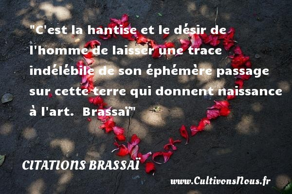 citations brassaï