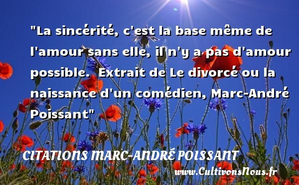 citations marc-andré poissant