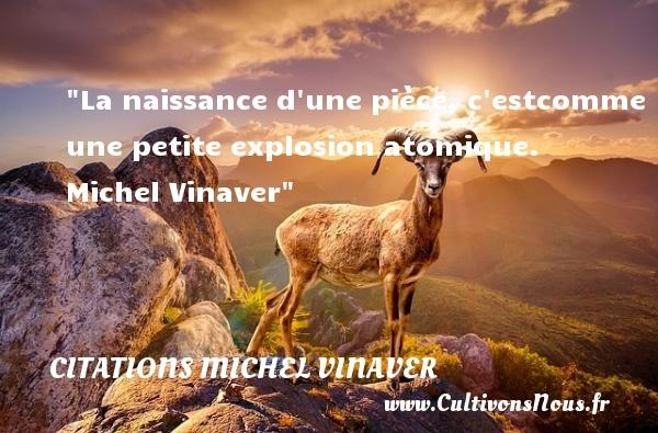 citations michel vinaver